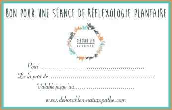Bon cadeau réflexologie plantaire à Toulouse et Plaisance-du-Touch